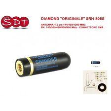 "DIAMOND ""ORIGINALE"" SRH-805S ANTENNA 4,5 cm 144/430/1200 MHZ RX: 150/300/450/800"
