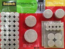 Scotch 288 Pcs Self Adhesive Felt Pads Heavy Duty Furniture Floor Protector new