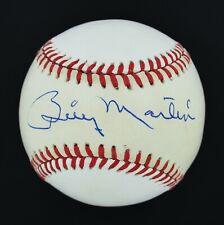 Fine Billy Martin Signed Autographed OAL Baseball Yankees JSA LOA #BB09232