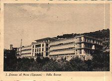 CARTOLINA DI SAN LORENZO AL MARE (CIPRESSA- IMPERIA) VILLA NOVARO  C4-447
