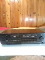 Teac R-445 Auto Reverse Stereo Cassette Deck Dolby B-C Noise Reduction System
