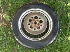 RUSTY ART Harley Davidson OEM 90-16 Touring Front Spoke Rim rotor and Tire