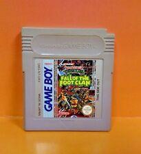 Teenage Mutant Ninja Turtles Fall Foot Clan - Nintendo Game Boy Color GB Advance