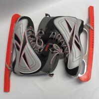 Youth Reebok FIGU Robik 4 Lace Front Adjustable Strap Figure Skate Size 6.5