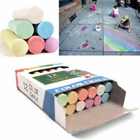 Chalk for Kids Activity Small & Giant Pavements Chalks Coloured safe for Kids