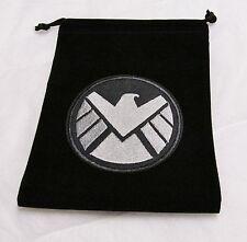 Marvel Dice Masters Age of Ultron BLACK SHIELD S.H.I.E.L.D. Drawstring DICE BAG
