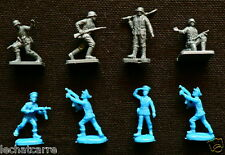 Airfix & Atlantic Vintage - German Infantry + Flyers - Figurines - 1/72