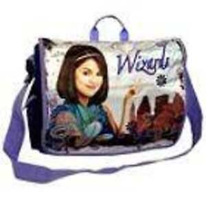 Messenger School Bag Girls Purple Disney Wizards of Waverly Place Large