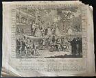 The Beggars Opera The Italian Eunuchs Glory ca1735 etching attr. William Hogarth