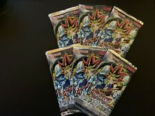 6x YuGiOh Metal Raiders UNSEARCHED BOOSTER PACK