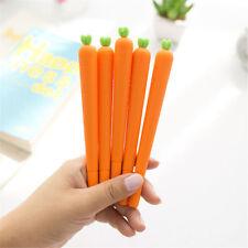 Cute Carrot Black Ink Gel Pen Stationery Pen For Office School Supplies 0.5mm