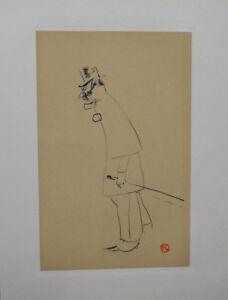TOULOUSE-LAUTREC : un docteur - GRAVURE signée, 1950 #300ex