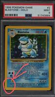 Blastoise NO ILLUS. Error ONLY KNOWN PSA 9!!! POP 1!? 1999 MINT Base Set Pokemon