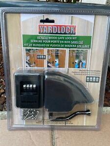 NEW National Hardware YARDLOCK Keyless Gate Combination Lock