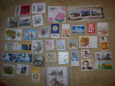 56 (RECENT YEARS) MINT ESTONIA POSTAGE STAMPS AND THREE USED STAMPED ENVELOPS