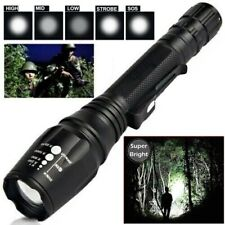 990000Lumens Ultra Brightest High Power T6 LED Police Tactical Flashlight Torch
