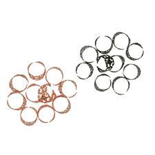 20pcs Filigree Adjustable Ring Base Blanks Pad Finding Jewelry Making DIY