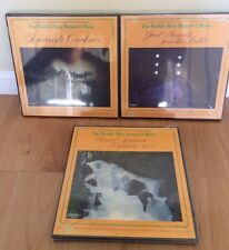 Lot of (3) The World's Most Honored Music Classical Records New/Sealed
