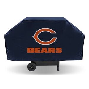 NFL Chicago Bears Black Grill Cover Heavy Duty Large Logo