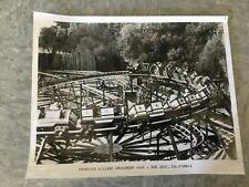 Frontier Village Amusement Park San Jose Apache Whirlwind roller coaster photo