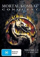 Mortal Kombat Conquest : Vol 1-3 (DVD, 2005) New & Sealed