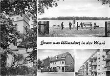 Bg3651 gruss aus wunsdorf in der mark Cpsm 15x9.5cm germany