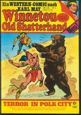 Winnetou und Old Shatterhand Nr.5 von 1978 - TOP Z1 Western Comic nach Karl May
