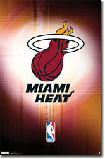 Miami Heat - Logo - NBA Baskteball Poster #125