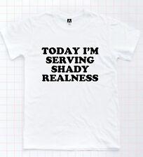 Shady Realness T-shirt Rupaul Drag Race Fishy Funny Slogan Tee Pride LGBT