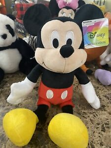 Disney MICKEY MOUSE in White Button Red Pants Kohl's Cares Plush Stuffed Toy