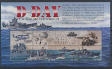 LM79248 Sierra Leone D-Day anniversary military good sheet MNH