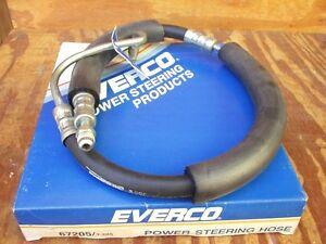 1978 1979 Ford Granada Mercury Monarch power steering hose Everco 3-205 NOS!