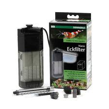 Dennerle Nano Eckfilter für Mini Aquarien, Garnelen 10-40 L Energiesparend