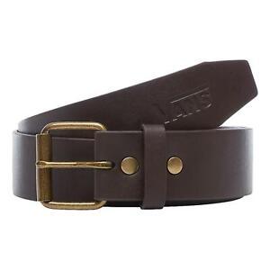 Vans Hunter II PU Belt - Dark Brown NEW