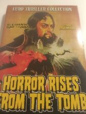 Horror Rises From the Tomb (DVD, Euro Thriller Collection) RARE OOP! Paul Naschy