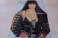 BP203 Popcorn- Poster - Cher  ca. DIN A3