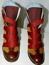 DOLL HOUSE 5678 FASHION BOOTS LEATHER SIZE 6