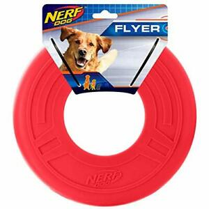 Dog Flyer Toy Frisbee Lightweight Durable Water Resistant Medium/Large Breeds