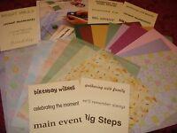 CREATIVE MEMORIES MEMORY KEEPERS CLUB VELLUM & VERSES PAPER & VELLUM /TITLES $25