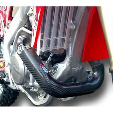 PRO CARBON LONG Exhaust Header Pipe Guard fits HONDA CRF450 CRF 450 2009-2012