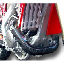 Encabezado de Escape Pro Carbono larga pipa protector adapta a Honda CRF450 CRF 450 2009-2012