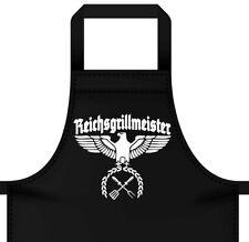 Grillschürze Küchenschürze FUN Grillen Reichsgrillmeister Barbecue Bratwurst