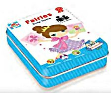 FAIRY Snap Cards LEARN & PLAY Numbers in tin FUN Toy 3+ nursery kids boys girls