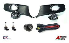 BRAND NEW VW CADDY TOURAN 2010+ FOG LIGHT GRILLE KIT + WIRING + HEADLIGHT SWITCH