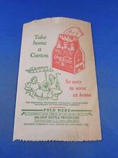 COCA COLA NO DRIP BOTTLE PROTECTOR PAPER SLEEVE TAKE HOME A CARTON SERVE AT HOME