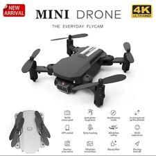 4K Camera Mini Drone Wifi Fpv Atitude Hold Foldable Quadcopter Remote controlToy