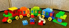 LEGO DUPLO MY FIRST NUMBER COUNTING TRAIN 10558 COMPLETE 31 PIECES