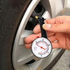 Car Automobile Tire Air Pressure Gauge Dial Meter PSI BAR Units Vehicle Tester