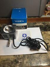 Vintage Yashica Super-8 Movie Light With Original Box