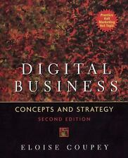 Digital Business : Concepts and Strategies by Eloise Coupey (2004, Paperback,...